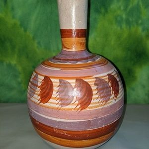 Other - Clay hand painted vase